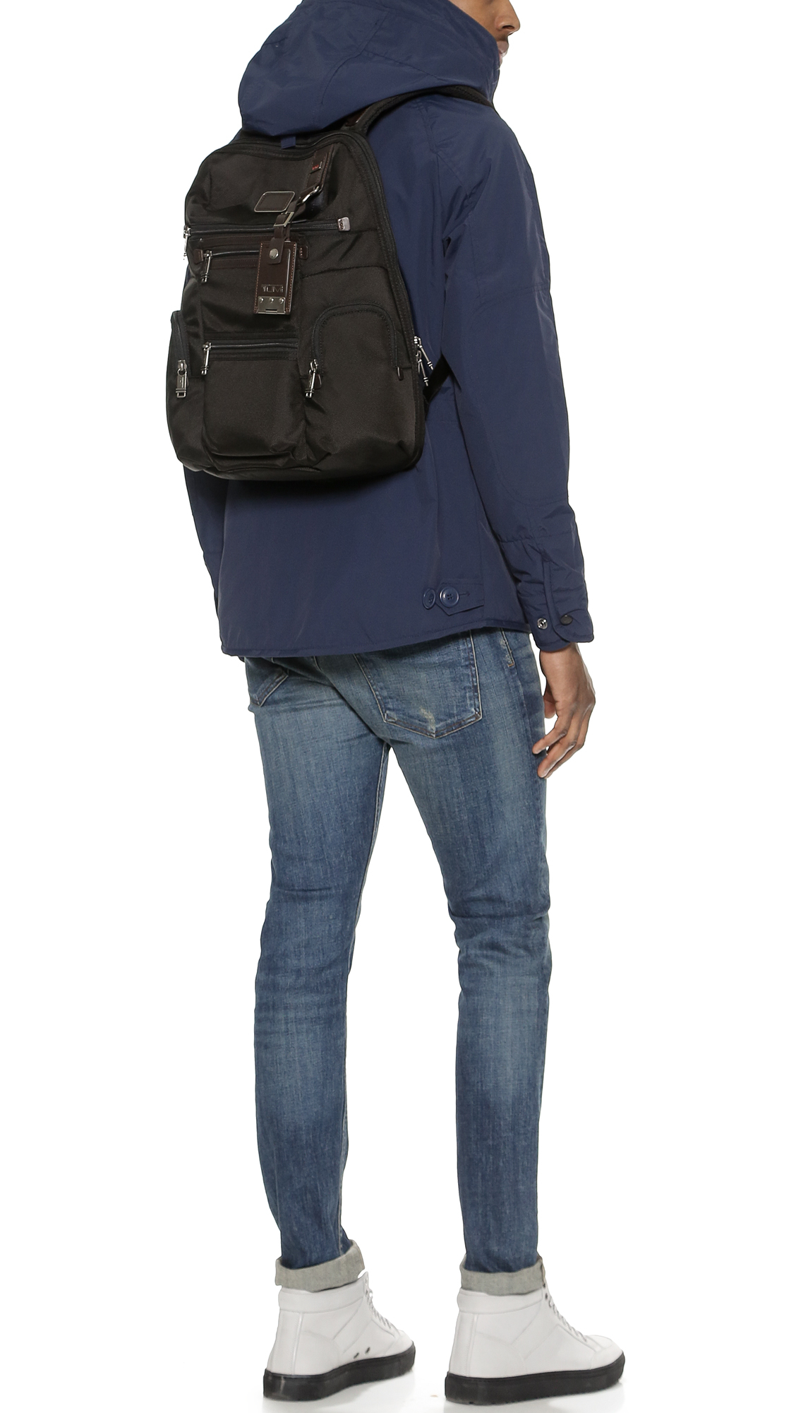 Tumi Alpha Bravo Backpack | Tumi Alpha Bravo Knox Leather Backpack | Tumi Alpha Bravo
