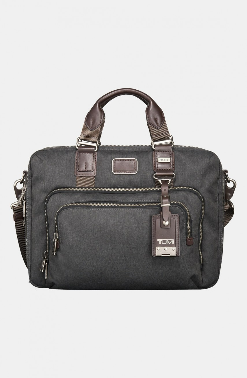 Tumi Alpha Bravo Knox Leather Backpack | Tumi Alpha Bravo Tote | Tumi Alpha Bravo