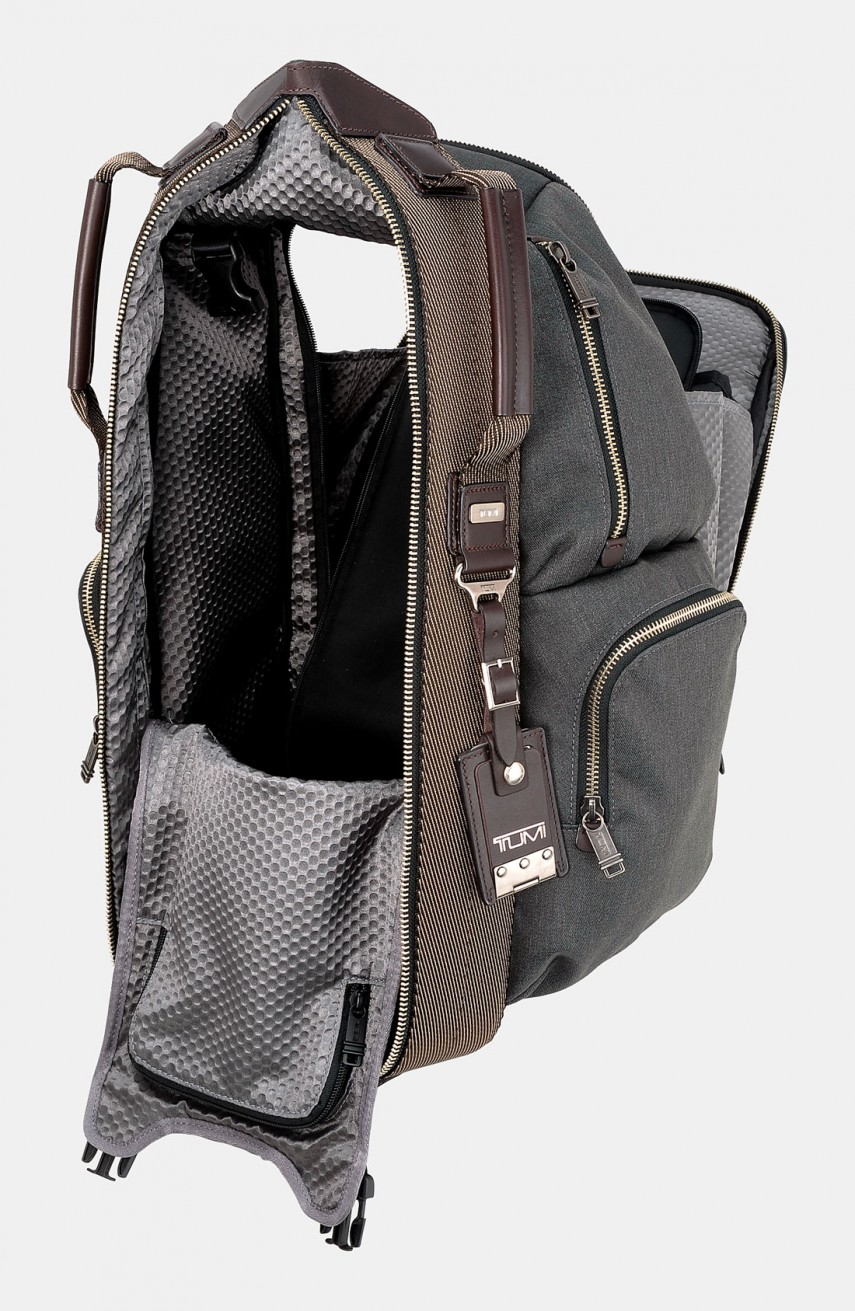 Tumi Alpha Bravo Travis | Tumi Alpha Bravo | Tumi Alpha Bravo Knox Leather Backpack