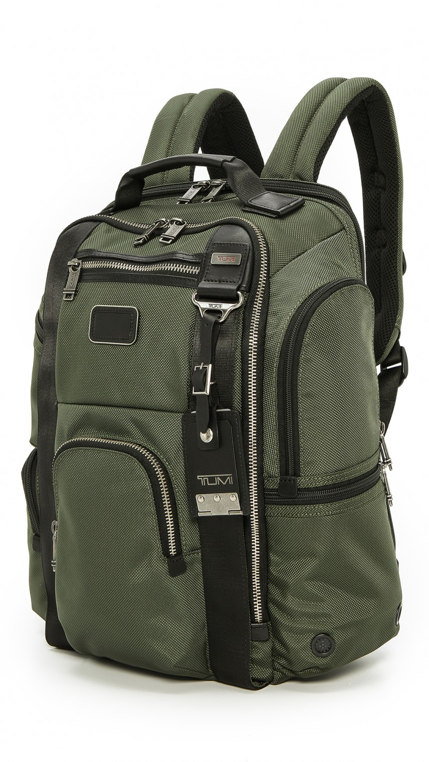 Tumi Alpha Bravo | Tumi Alpha Bravo Knox Backpack Leather | Tumi Alpha Bravo Spruce