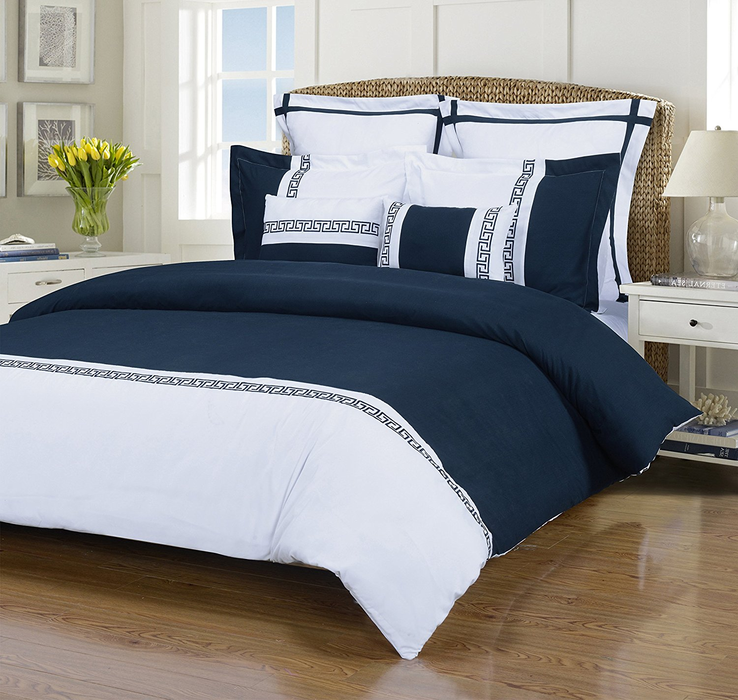 size king with very lodge blue details taste good sets ecrins comforter