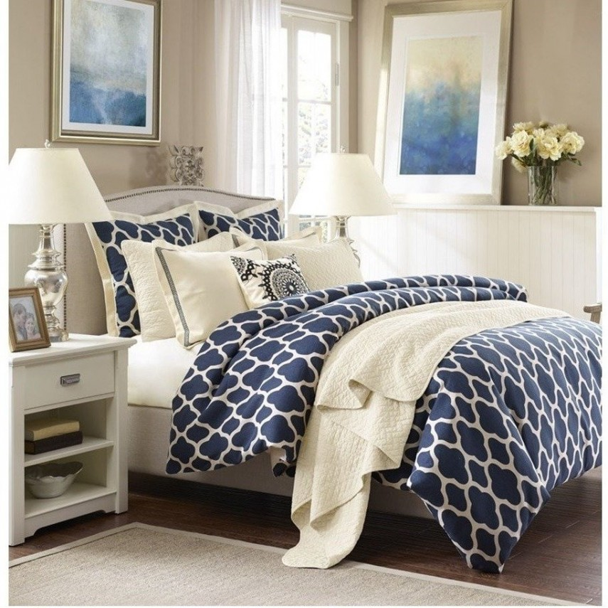 Turquoise Comforter Set | Navy Blue Comforter | Cheap Comforter Sets