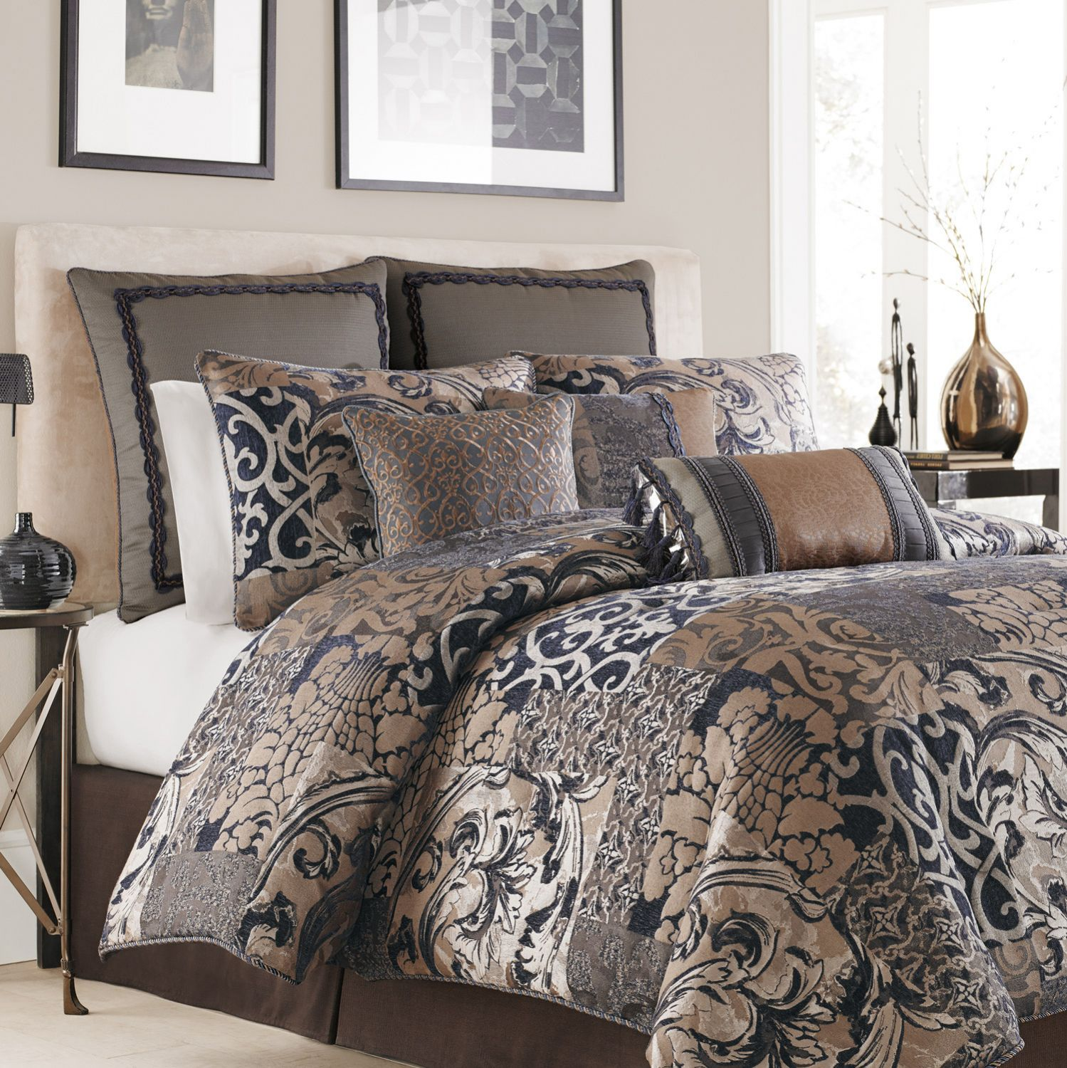 Turquoise Comforter Set | Queen Bedding Sets | Walmart Queen Bedding Sets