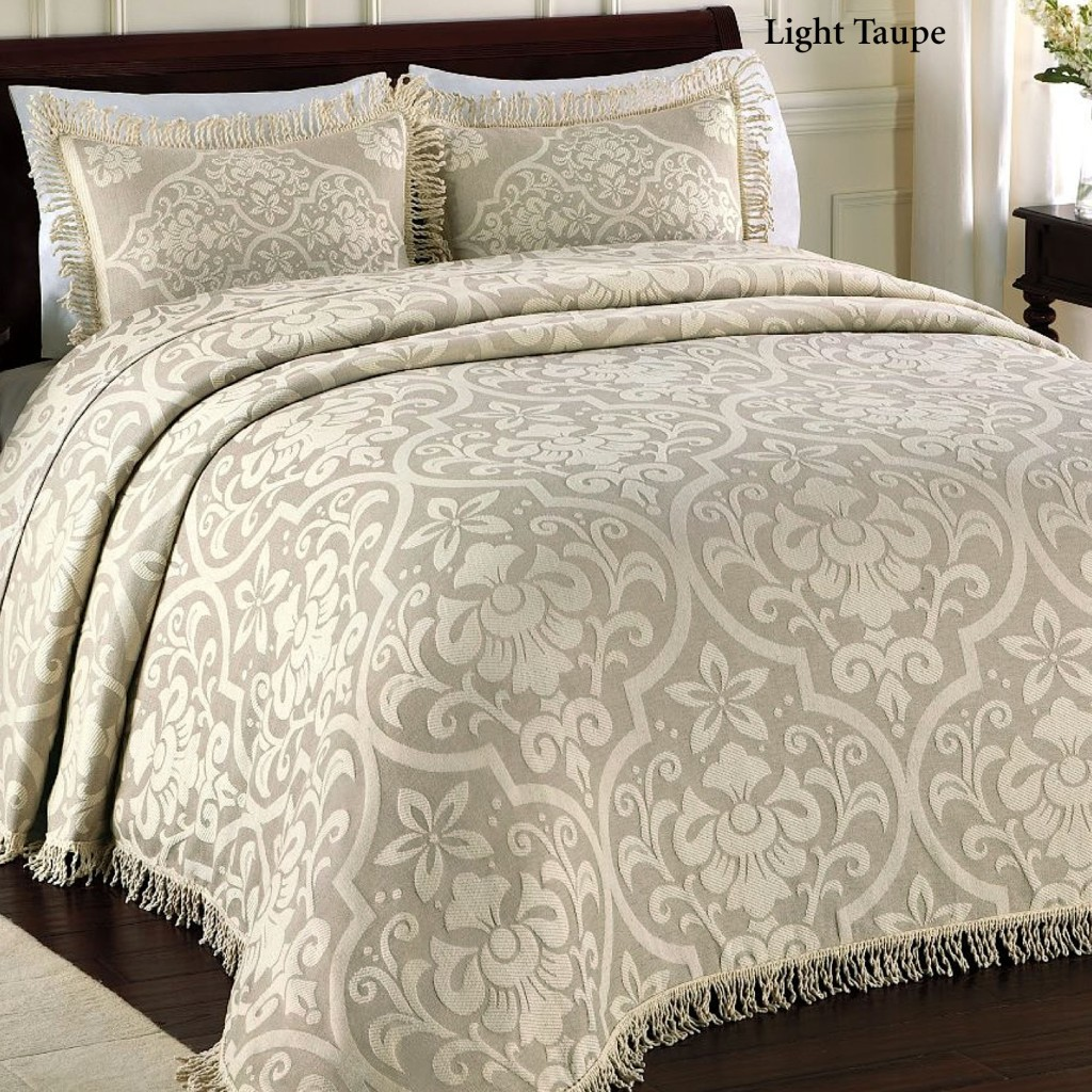 Twin Chenille Bedspread | Matelasse Bedspreads | King Quilts