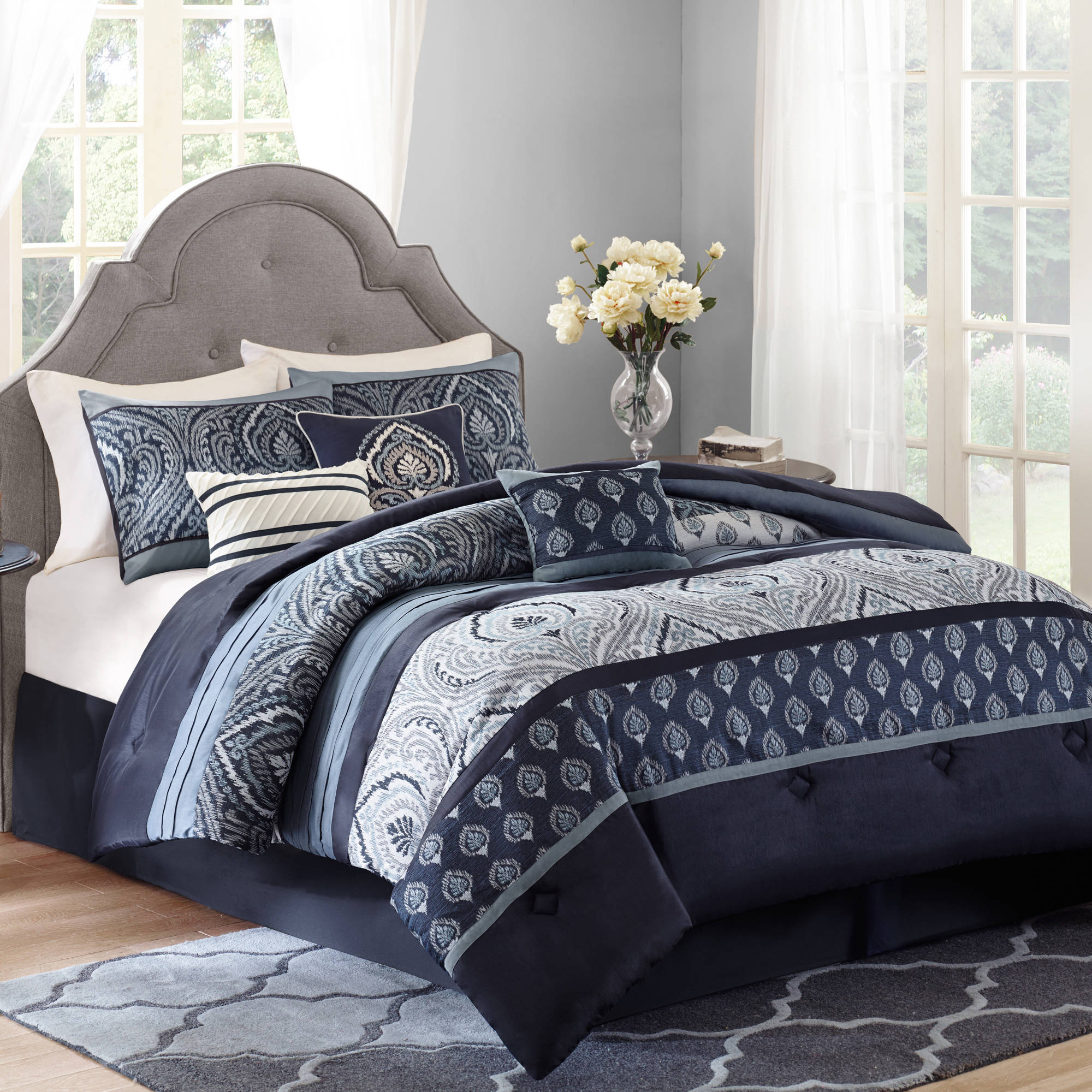 Twin Comforter Target | Twin Bed Comforters | Navy Blue Comforter