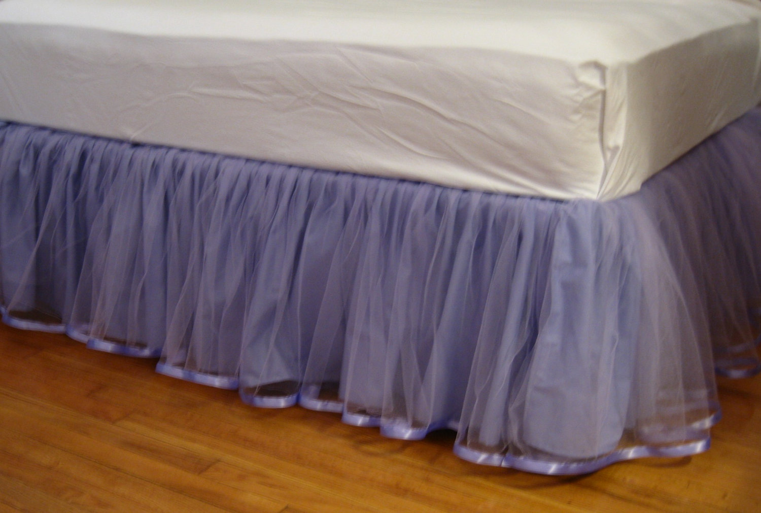 Twin Dust Ruffle | Split Corner Bed Skirt | Bed Skirts Queen