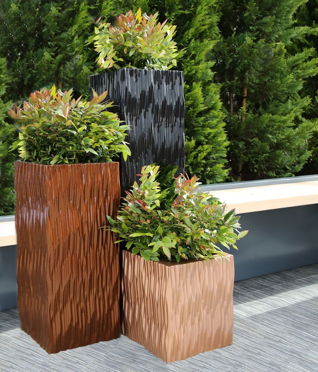 Unique Planters | Tall Planters | Tall Planter Pots