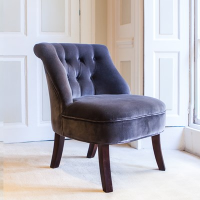 Upholstered Accent Chairs | Velvet Armchair | Occasional Chairs