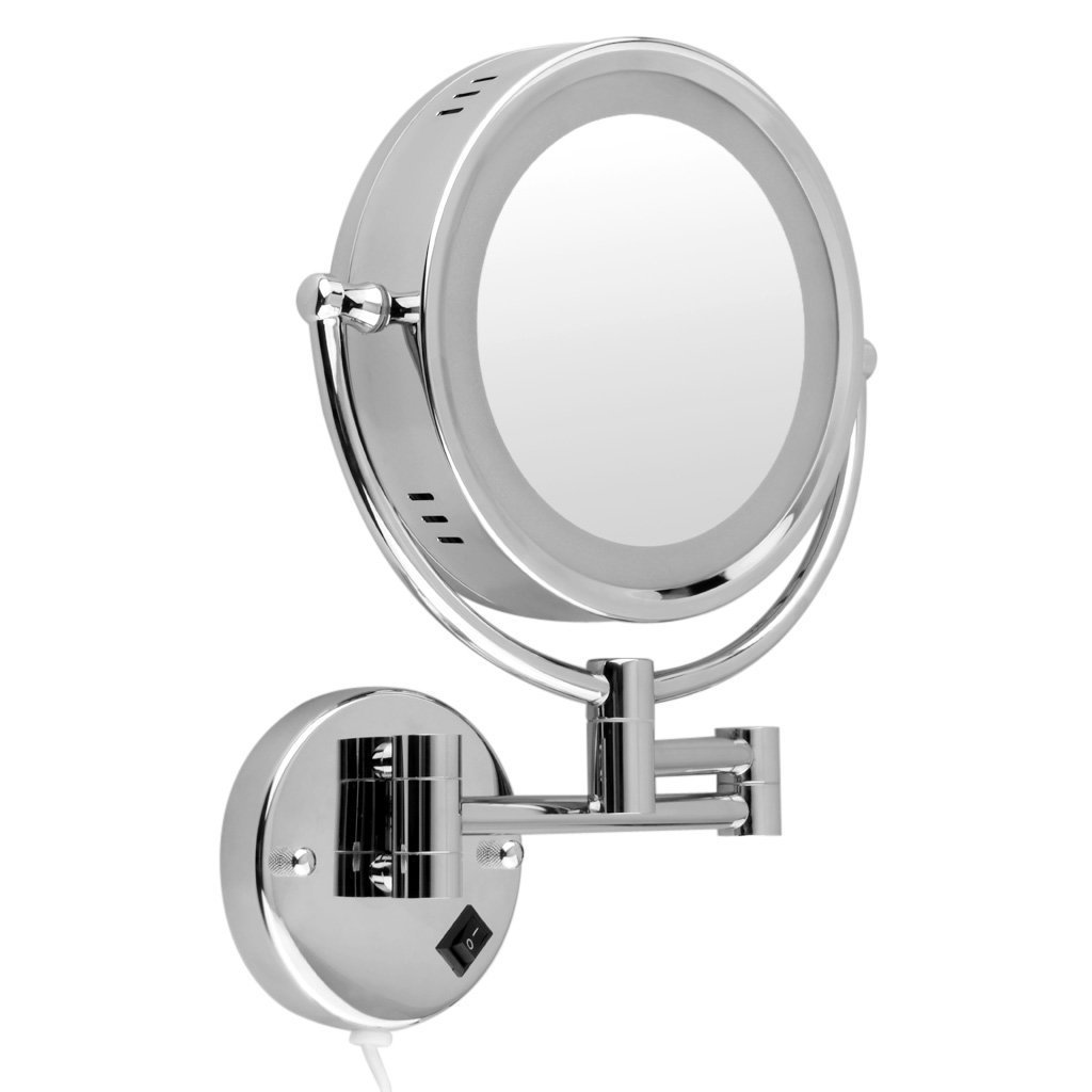 Vanity Makeup Mirror with Light Bulbs | Large Lighted Makeup Mirror | Best Lighted Makeup Mirror