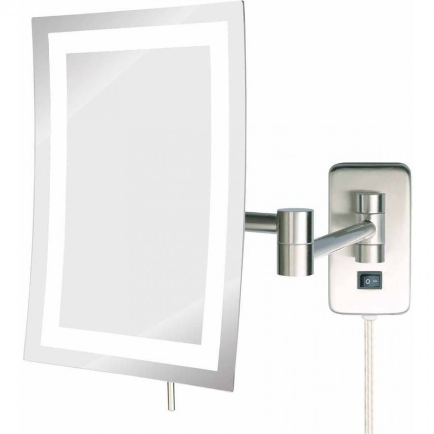 Vanity With Lighted Mirror | Best Lighted Makeup Mirror | Led Lights For Makeup