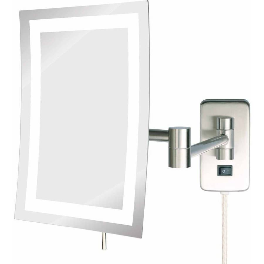 Vanity with Lighted Mirror   Best Lighted Makeup Mirror   Led Lights for  MakeupBedroom  Large Vanity Mirror With Lights   Best Lighted Makeup  . Large Lighted Vanity Mirror. Home Design Ideas