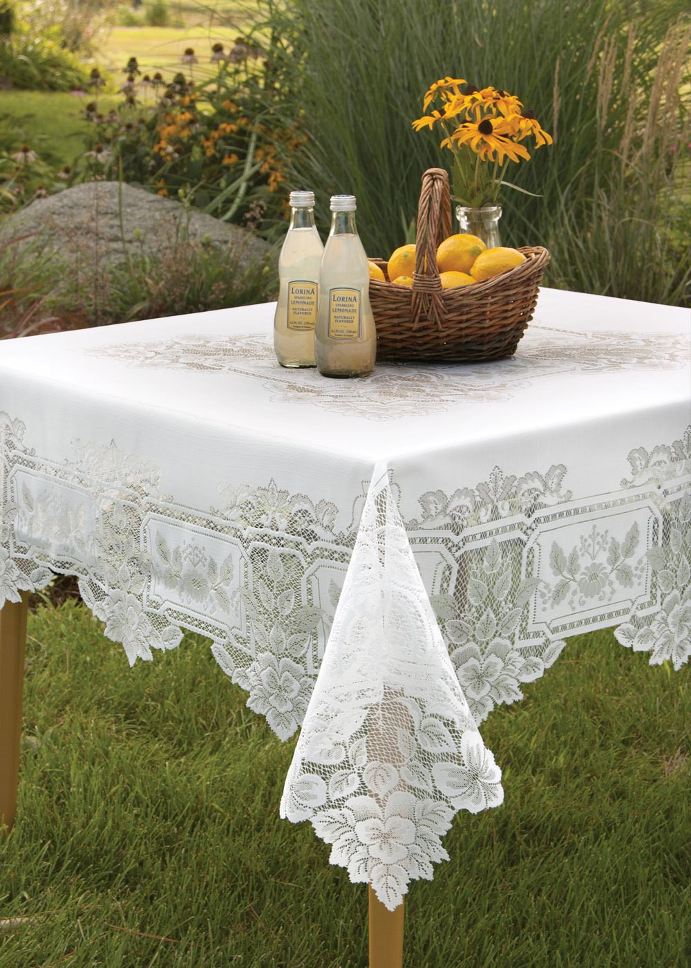 Vinyl Tablecloth | Lace Tablecloths | Vinyl Round Tablecloth
