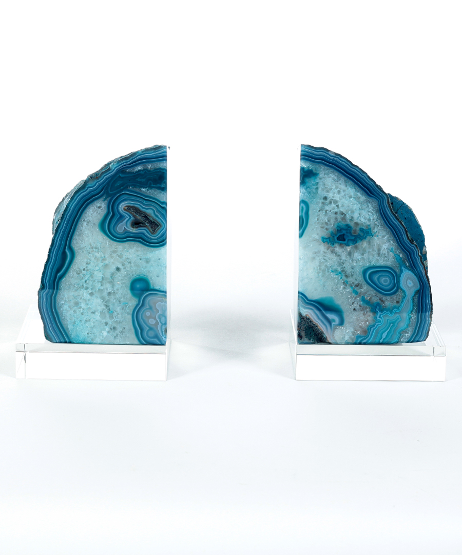 Vivacious Geode Bookends | Remarkable Geode Bookends