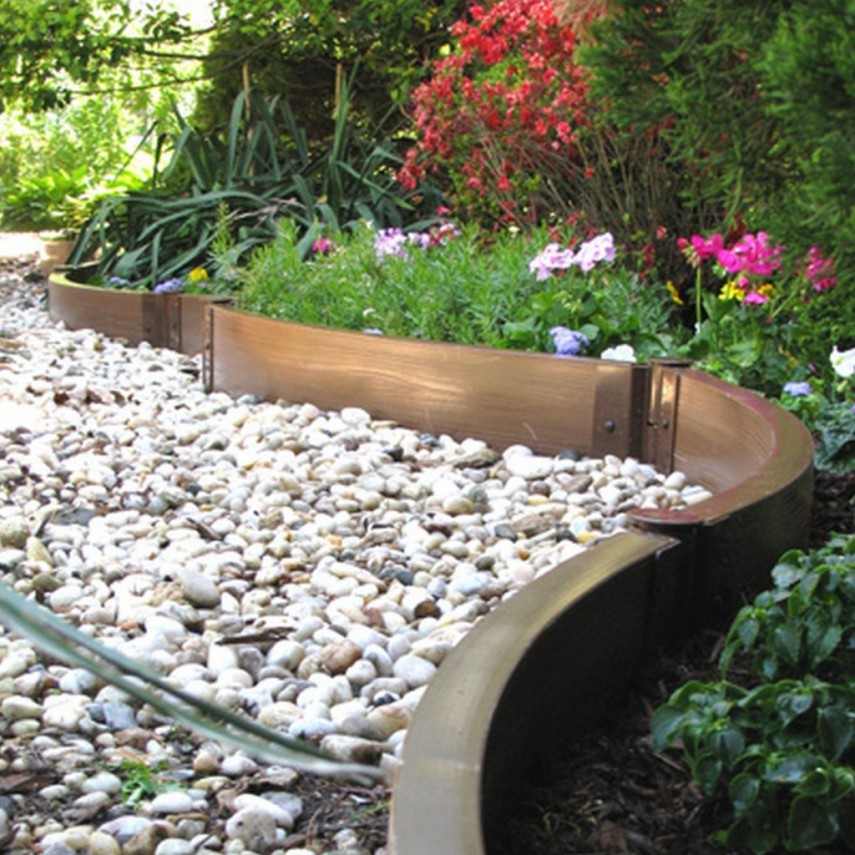 Walkway Edging | Edging For Flower Beds | Metal Landscape Edging