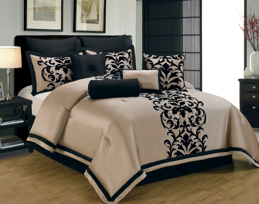 Bedroom: Wonderful Queen Size Bedding Sets For Bedroom Decoration ...