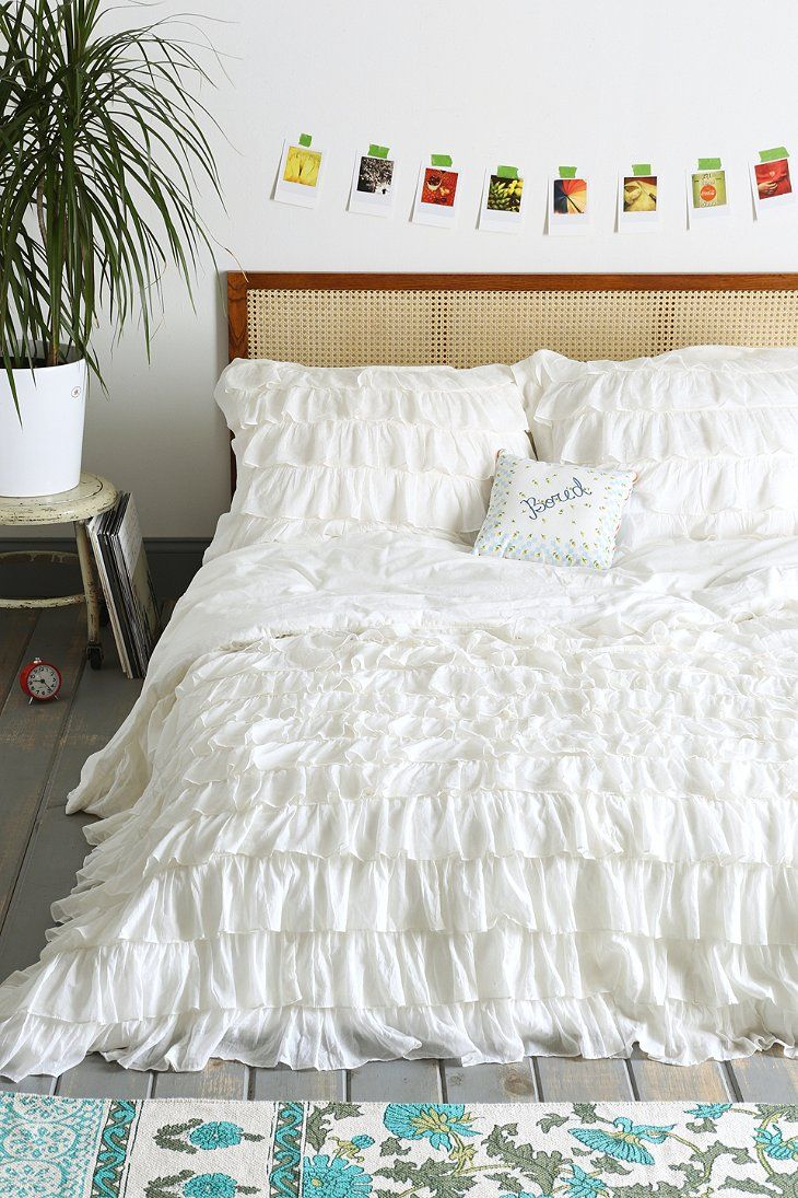 West Elm Duvet Cover | Ikea Duvet Insert | White Duvet Cover Queen