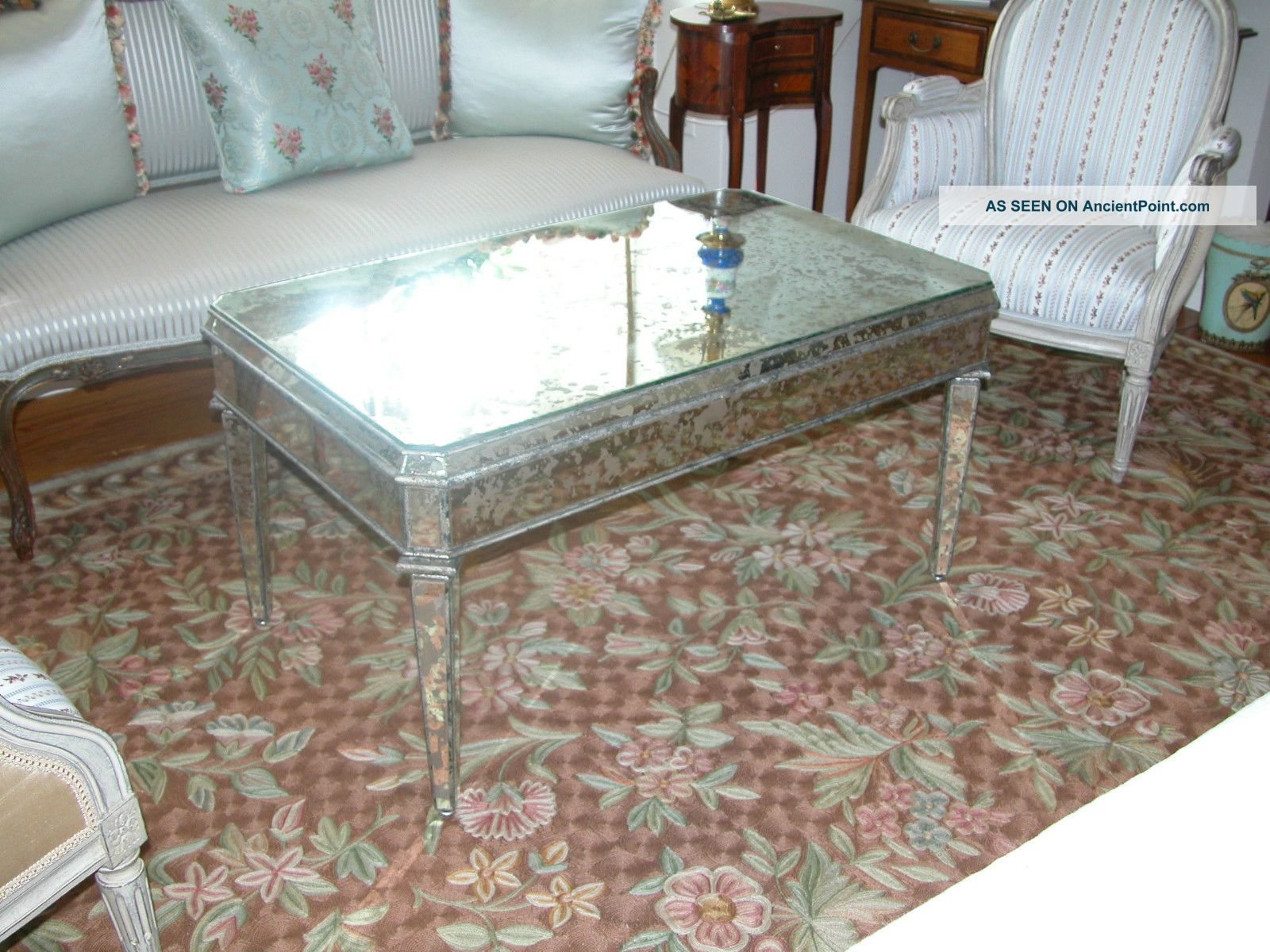 West Elm Mirrored Coffee Table | Mirrored Coffee Tables | Mirrored Coffee Table