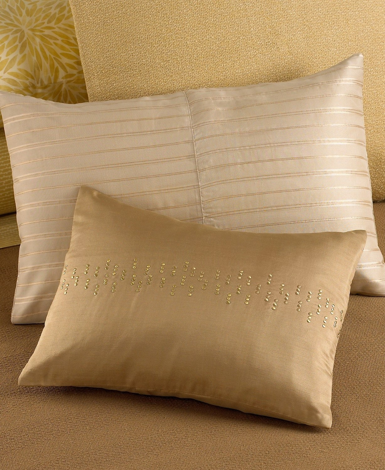 West Elm Pillows | Gold Throw Pillows | Mustard Throw Pillow