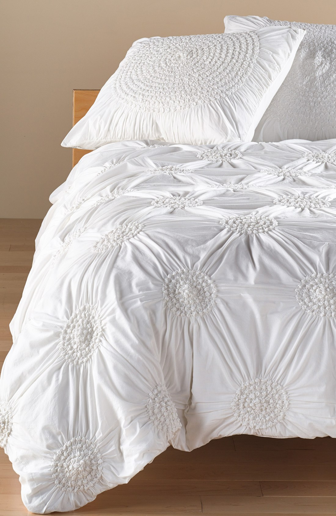 White Duvet Cover | White Tufted Duvet Cover | Duvet Covers Queen