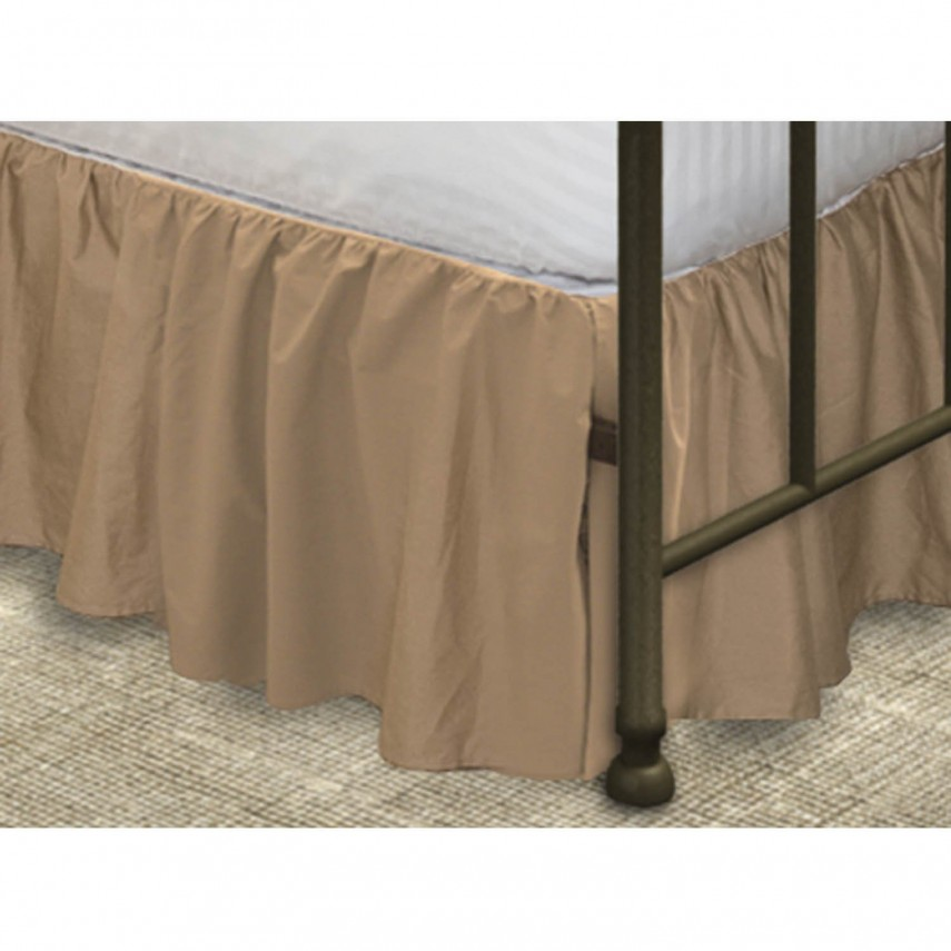 White Queen Size Bed Skirt | Twin Xl Bedskirt | Bed Skirts Queen