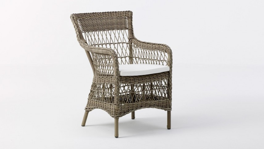 Wicker High Back Dining Chair | Mcguire Chairs Vintage | Rattan Chair