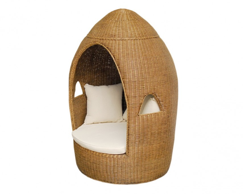 Wicker High Back Dining Chair | Rattan Chair | Indoor Rattan Furniture