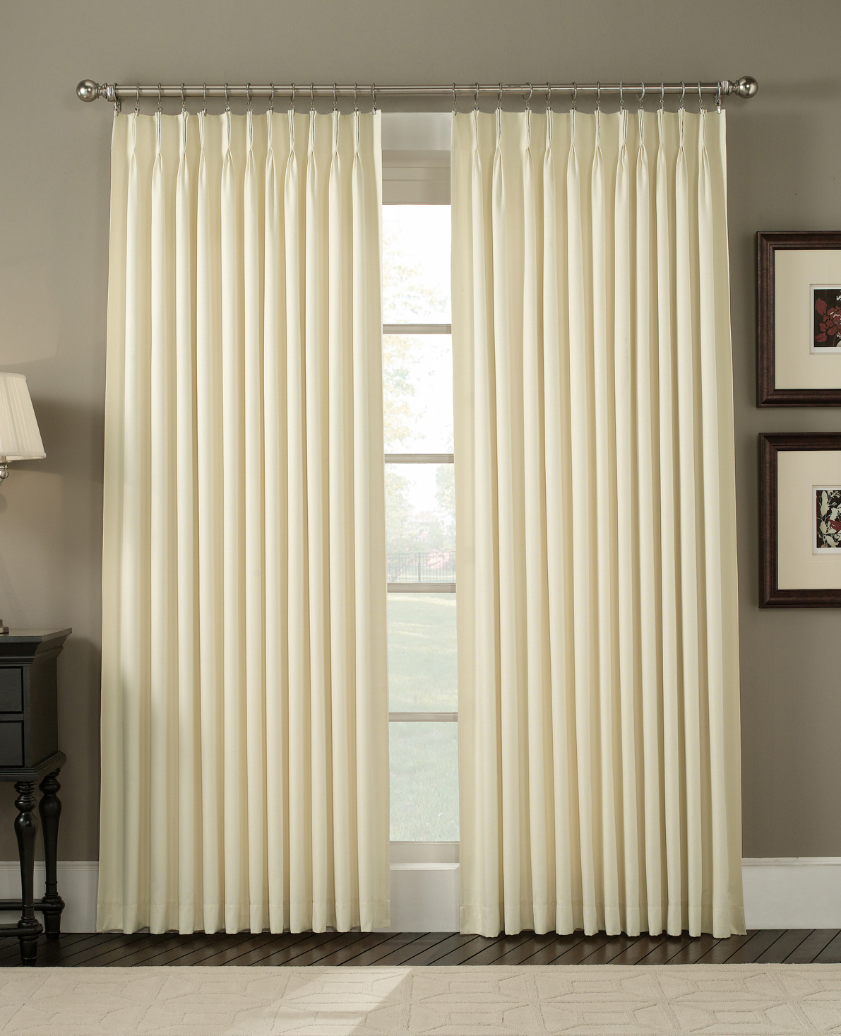 Window Drapes | Arch Window Drapes | Drapes for Bay Window