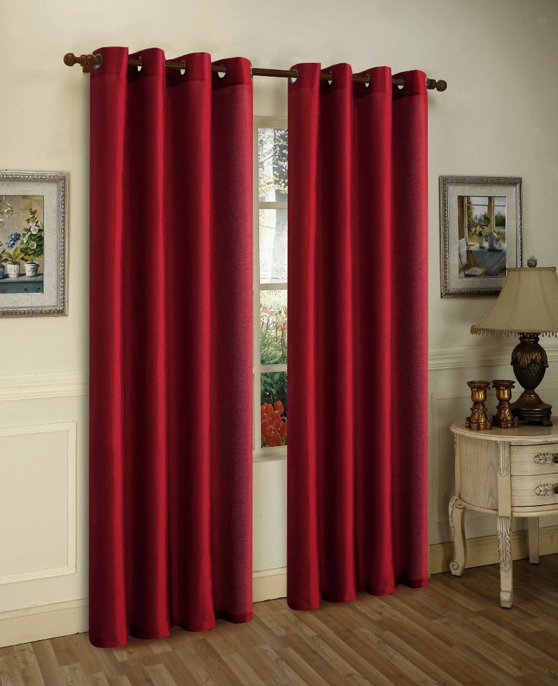 Window Drapes | How Do You Drape A Window Scarf | Drapes and Valances Window Treatments