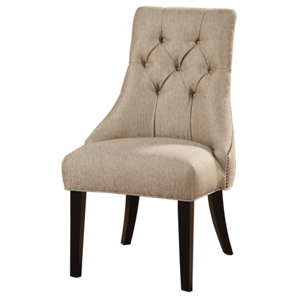Wingback Leather Chair | Tufted Chair | Leather Tufted Chairs