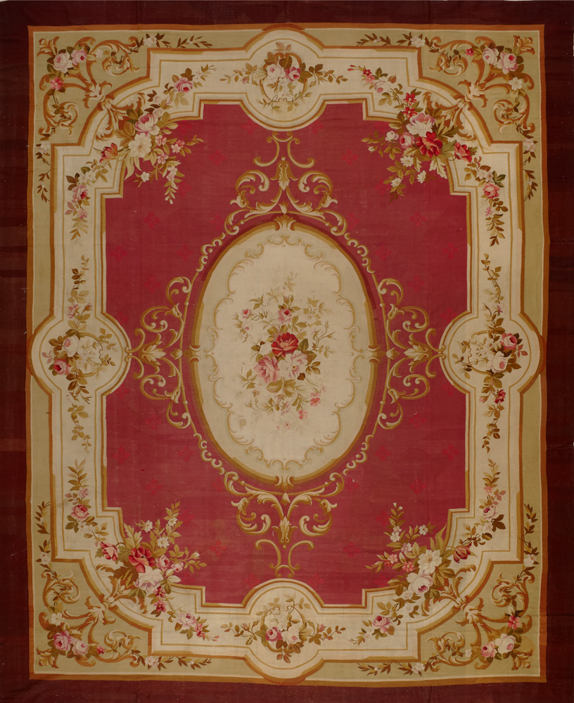 Wonderful Antique Aubusson Rugs | Fascinating Aubusson Rugs