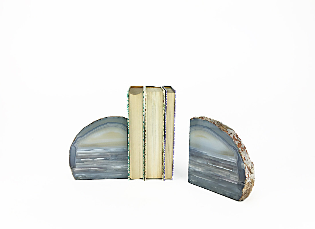 Wondrous Gemstone Bookends | Snazzy Geode Bookends