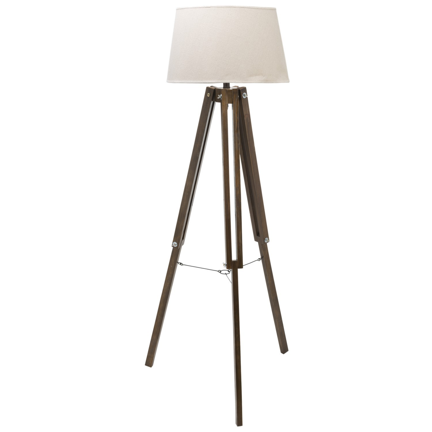 Wood Base Floor Lamp | Santa and Cole Tripode Floor Lamp | Tripod Lamp