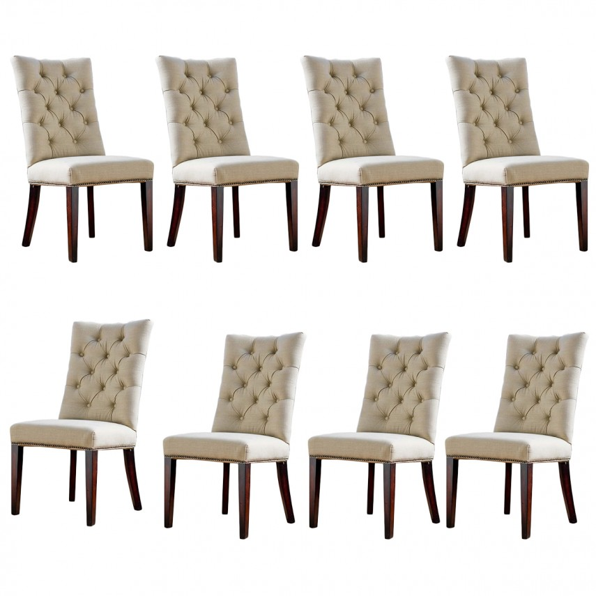 World Market Chair Covers | Tufted Dining Chair | Tufted Dining Chairs With Nailheads