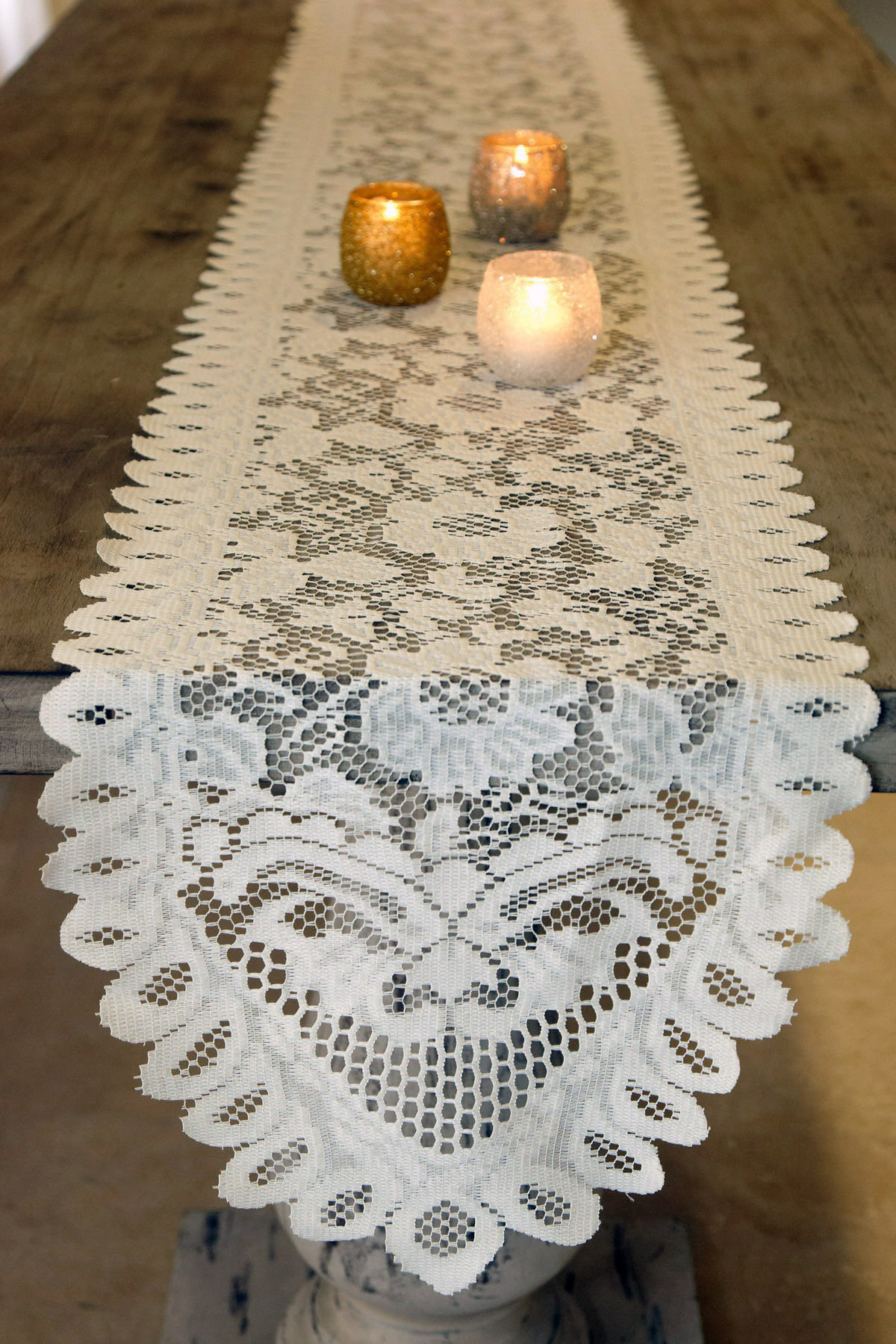 Woven Table Runner | Lace Table Runners | Decorative Table Runners