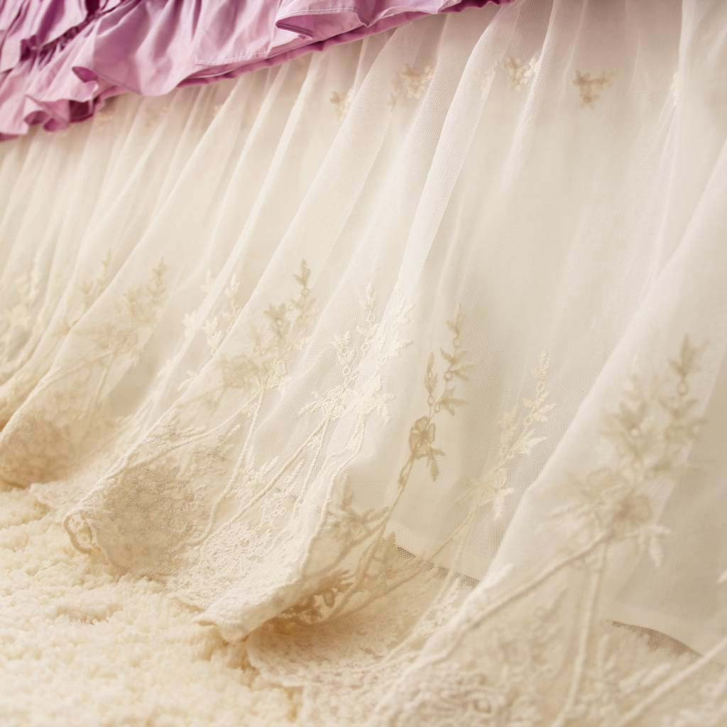 Wrap Around Bed Skirts | Bed Skirts Queen | Low Profile Bed Skirt