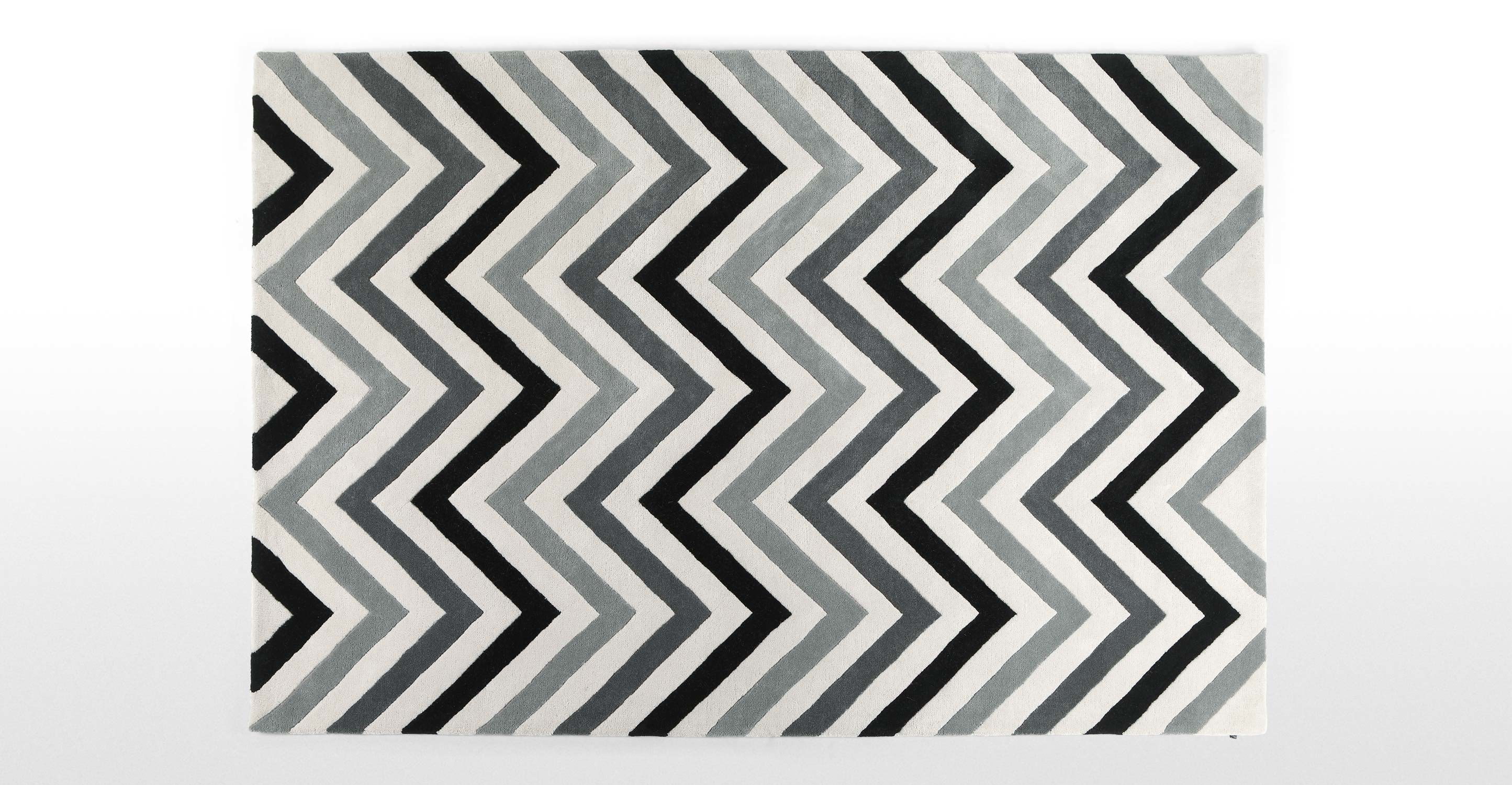 Yellow Chevron Outdoor Rug | Chevron Rug | Navy Chevron Area Rug