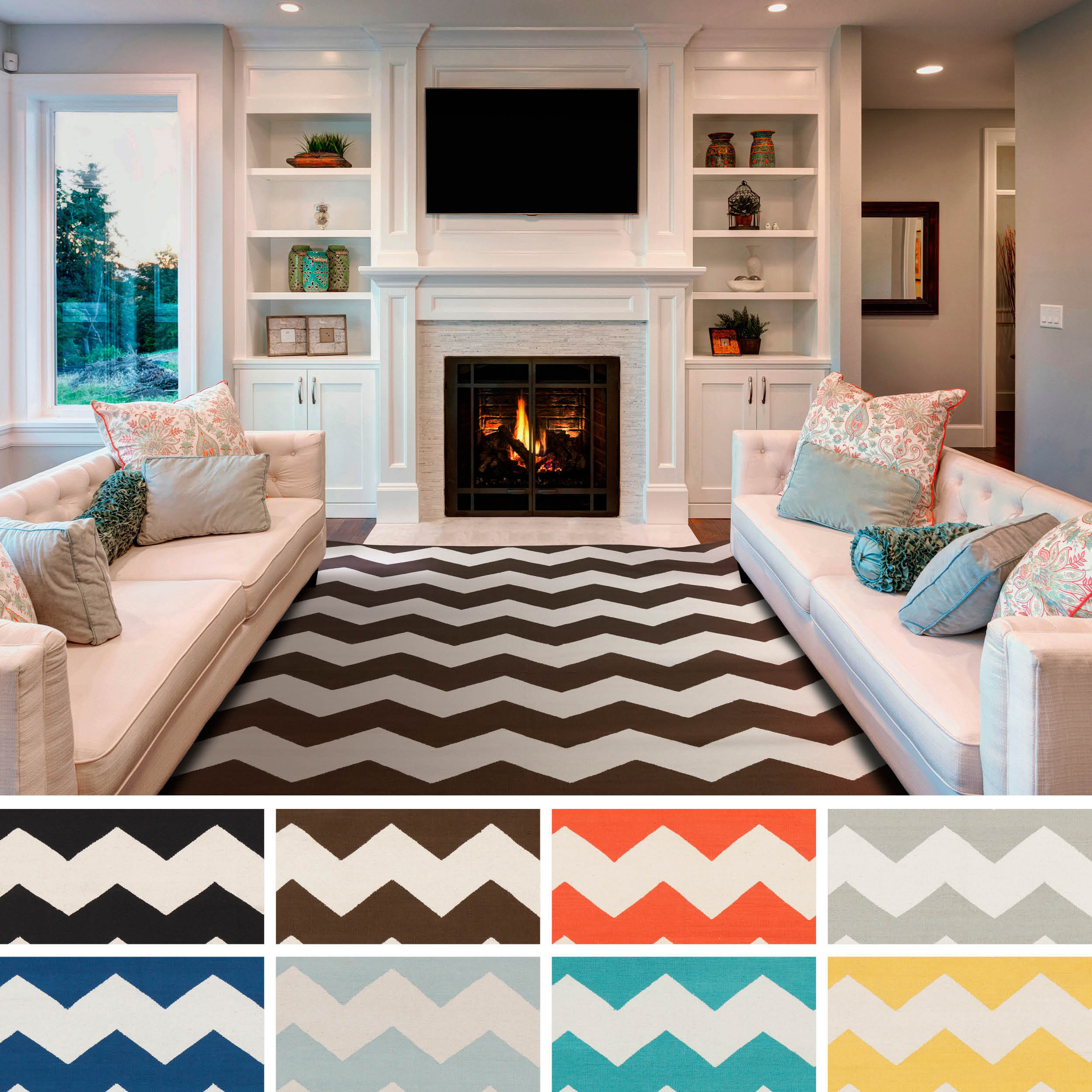 Yellow Chevron Outdoor Rug | Pottery Barn Chevron Rug | Chevron Rug
