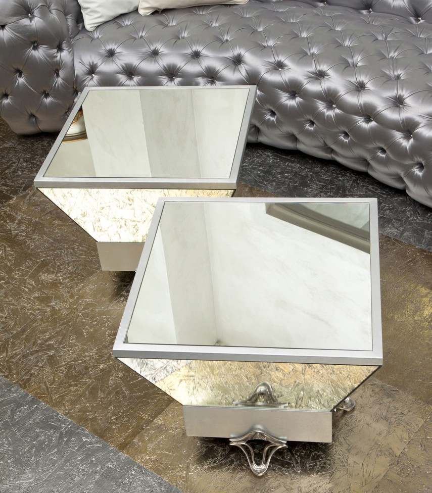 Z Gallerie Mirrored Coffee Table | Mirrored Coffee Table | West Elm Mirrored Coffee Table